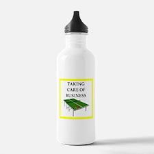 table tennis joke Water Bottle
