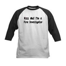 Kiss Me: Fire Investigator Tee
