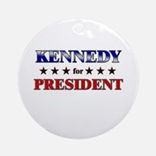 KENNEDY for president Ornament (Round)