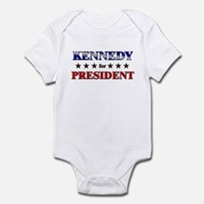 KENNEDY for president Infant Bodysuit