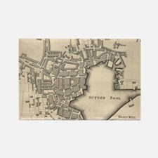 Cute Plymouth uk Rectangle Magnet