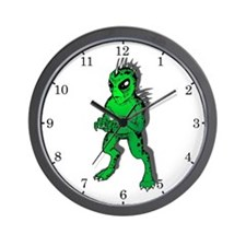 Chupacabra Shadow Wall Clock