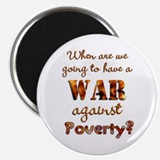 War on Poverty Magnet