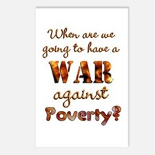 War on Poverty Postcards (Package of 8)