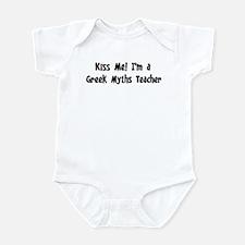 Kiss Me: Greek Myths Teacher Infant Bodysuit