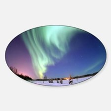 Funny Aurora borealis Decal