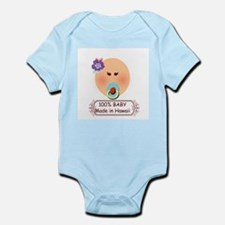 Baby Girl Made in Hawaii Infant Bodysuit
