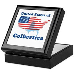 United States of Colbertica Keepsake Box