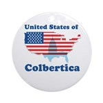 United States of Colbertica Ornament (Round)