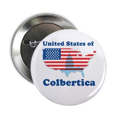 """United States of Colbertica 2.25"""" Button (100 pack"""