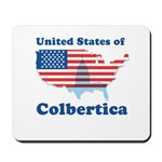 United States of Colbertica Mousepad