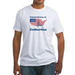 United States of Colbertica Fitted T-Shirt