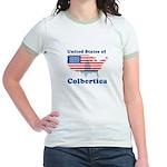United States of Colbertica Jr. Ringer T-Shirt