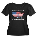 United States of Colbertica Women's Plus Size Scoo