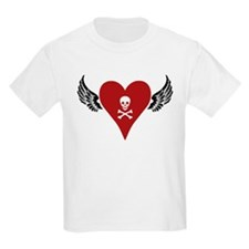 Skull + Heart + Wings T-Shirt