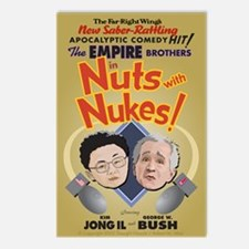 """Nuts with Nukes"" Postcards (Package of 8)"
