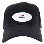 I Love Colbert Black Cap