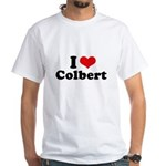 I Love Colbert White T-Shirt