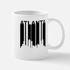 Retro Atlanta Cityscape Mugs