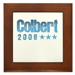 Colbert 2008 Framed Tile