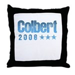 Colbert 2008 Throw Pillow