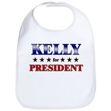 KELLY for president Bib