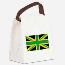 British - Jamaican Union Jack Canvas Lunch Bag