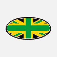 British - Jamaican Union Jack Patch