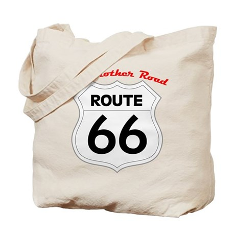 Route 66 - The Mother Road Tote Bag