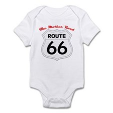 Route 66 - The Mother Road Infant Bodysuit