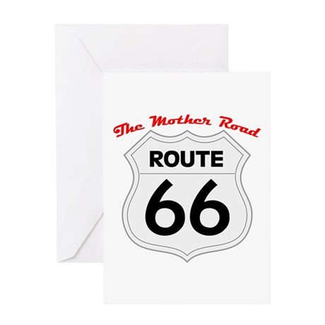 Route 66 - The Mother Road Greeting Card