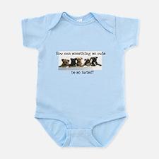 Pitbull cute Infant Creeper