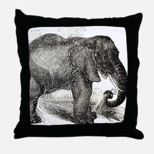 Funny Elephant lover Throw Pillow