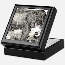 Cool Elephants Keepsake Box
