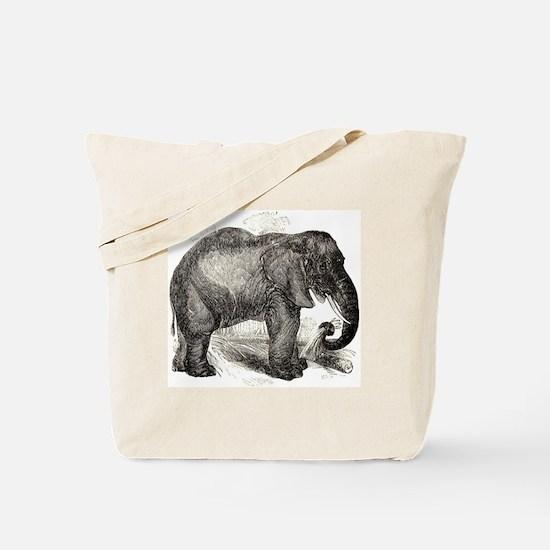 Cool I love elephants Tote Bag