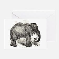Cute Elephants Greeting Card