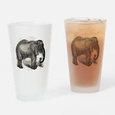 Unique Elephant lover Drinking Glass