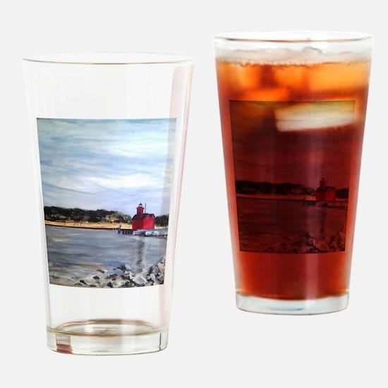 Holland, Mi Big Read Drinking Glass