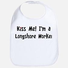 Kiss Me: Longshore Worker Bib