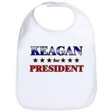 KEAGAN for president Bib