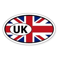 Great Britain United Kingdom Oval Decal