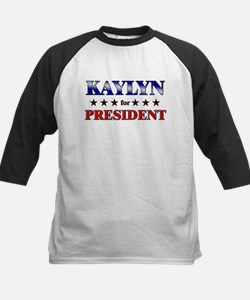 KAYLYN for president Kids Baseball Jersey