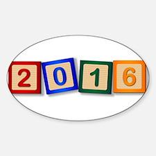 2016 Blocks Decal