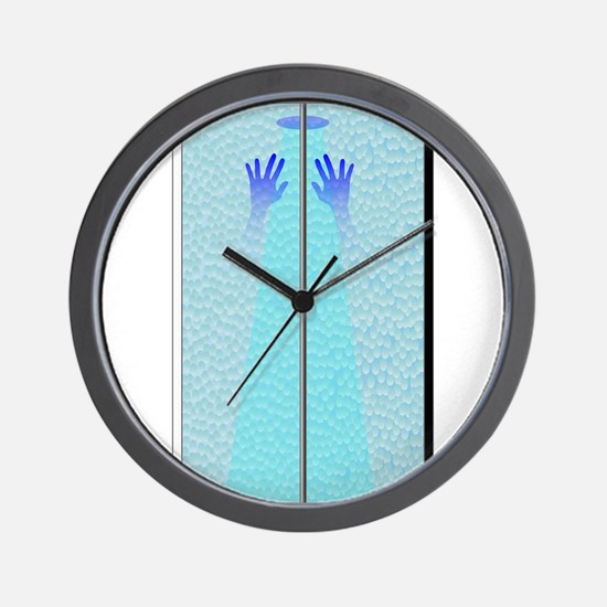 Shower Hands Wall Clock