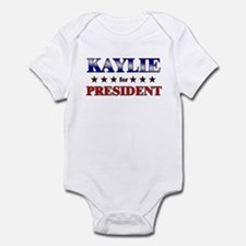KAYLIE for president Infant Bodysuit