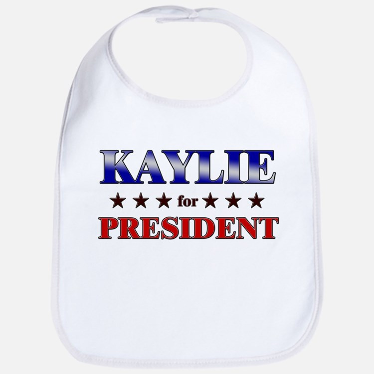 KAYLIE for president Bib
