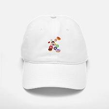 Panda & Donuts Baseball Baseball Cap