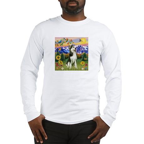Mt Country & Husky Long Sleeve T-Shirt