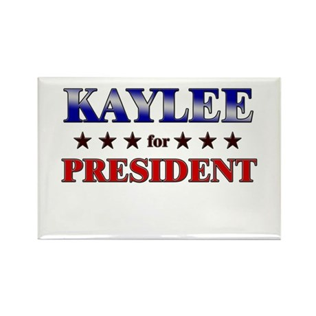 KAYLEE for president Rectangle Magnet (10 pack)