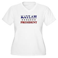 KAYLAH for president T-Shirt
